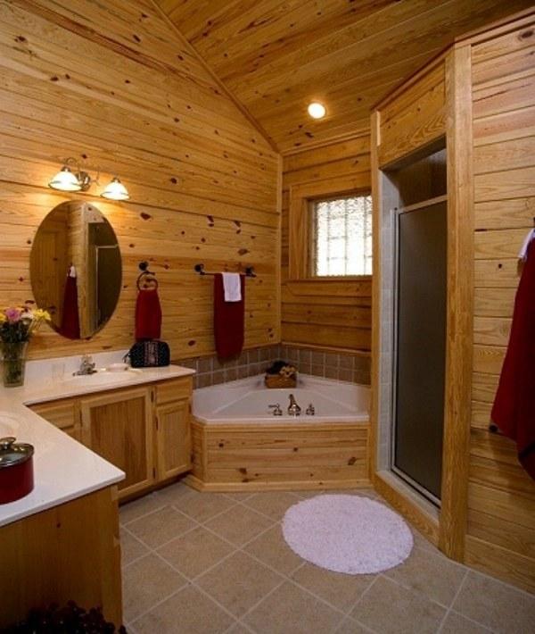 ванные комнаты фото дизайн маленькие в деревянном доме